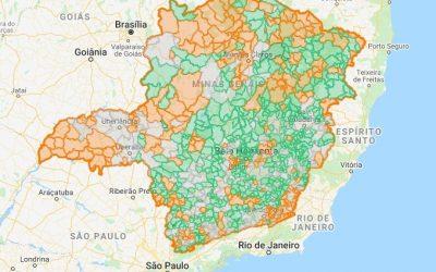 Arsae-MG avalia serviços de água e esgoto de 34 municípios em agosto e registra 185 constatações de mau desempenho
